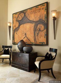 Африканский стиль в интерьере (24 фото), как оформить квартиру в африканском стиле