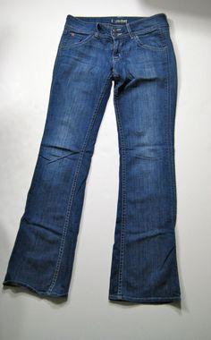 HUDSON Medium Stretch Boot Cut Denim Jean Size 28 #Hudson #Bootcut