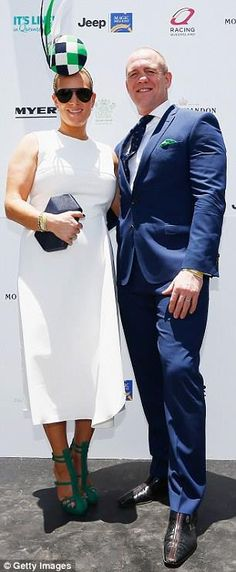 2626f940549 A touch of royalty  Zara Phillips (L) was joined by her husband Mike Tindall  (R) at Magic Millions race day in Queensland s Gold Coast on Saturday