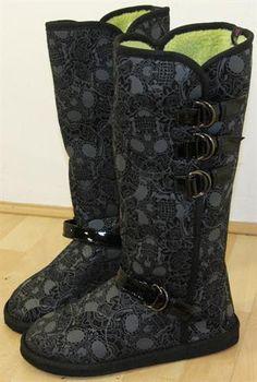 Iron Fist; Motopsycho Tall Fug Boots, £44.99/$72.52