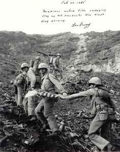 Mount Suribachi Iwo Jima World War II worldwartwo.filminspector.com