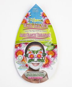 Another great find on #zulily! White Thai Mud Mask - Set of Six #zulilyfinds