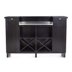 Delightful Shop Steamer Standing Home Bar Cabinet With Stainless Steel Top. Crafted Of  American Ash Solids