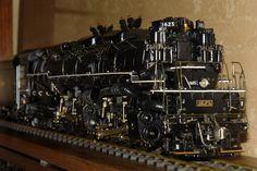 H-8 Allegheny 2-6-6-6  Live-Steem model
