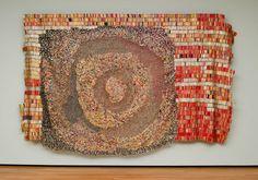 El Anatsui, textile artist, bottle caps