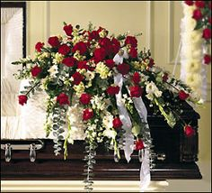 Elegant & Fragrant Casket Spray