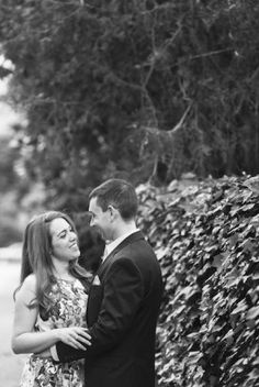Old Town wedding engagement session