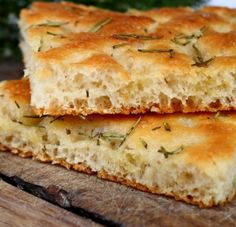 Gluten-Free and Sugar-Free Focaccia Fodmap Recipes, Gf Recipes, Gluten Free Recipes, Italian Recipes, Bread Recipes, Cooking Recipes, Dinner Recipes, Focaccia Recipe, Foods With Gluten