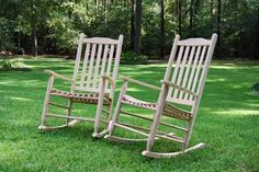 Oak Rocking Chairs from Cypress Moon