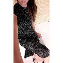 Vestido Grapiado Morley