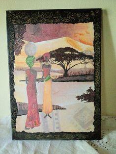 Women of Namibia Decoupage, Painting, Women, Art, Art Background, Painting Art, Kunst, Gcse Art, Paintings