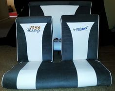 Airplane seats- yep I re-upholstered an airplane!