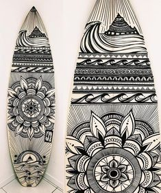 ere's the completed work @_jesslambert_ of @halcyon_lines was creating on a shape by @simonanderson_surfboards several posts back