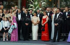 PRE NORWEGIAN ROYAL WEDDING PARTY AT SAS ROYAL HOTEL, TRONDHEIM, NORWAY - 23 MAY 2002 PRINCE EDWARD AND SOPHIE COUNTESS OF WESSEX 23 May 2002