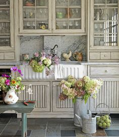 Antique French Country Kitchen