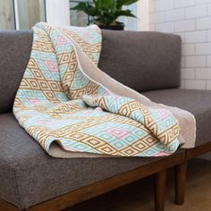 Bella Vista Throw {Positano, Italy} A throw by Seek & Swoon inspired by Positano. Designed in Portland, Oregon and made in the USA from recycled cotton. Couch Throws, Sofa Throw, Throw Blankets, Pastel Palette, Sustainable Gifts, Knitted Throws, Baby Size, Santa Maria, Life Is Beautiful