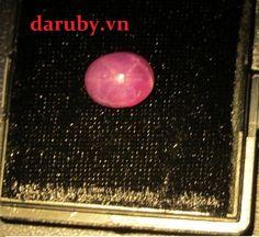 Đá ruby sao DRS012, đá ruby sao tự nhiên