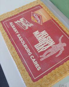 #mandeladay #large #big #cake #dlish Cake, Desserts, Dinners, Drinks, Big, Food, Tailgate Desserts, Dinner Parties, Drinking