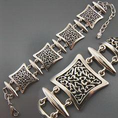 Серебряные украшения :: Серебряные цепочки и браслеты :: Браслеты :: Серебряный браслет  0080017121 