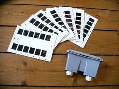 DDR Spielzeug Stereomat mit 7 Bilderkarten - 3D-gucken schon zu DDR-Zeiten. Mochte ich!