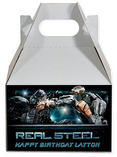 Real Steel personalized party supplies party favors