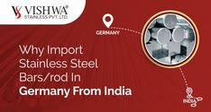 Why Import stainless steel Bars / Rod In Germany from India