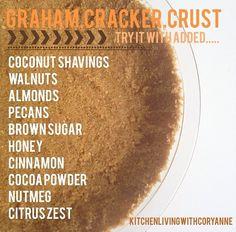 Get creative this crust by Coryanne Ettiene