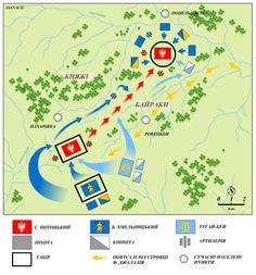 battle of Zolte Wody 1648 plan