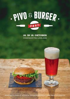 #beer and #burger fest in #Ljubljana, yea!