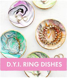 D.I.Y. Ring Dishes