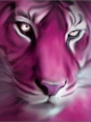 Free pink tiger.jpg phone wallpaper by wknatzer