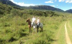 Passeios a cavalo também estão estre as opções da Serra de São José, em Tiradentes