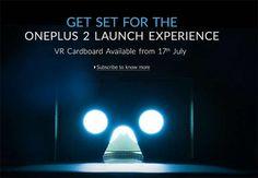 It is Here! OnePlus Cardboard Headset is Here