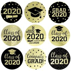 Graduation Decorations Discover Class of 2020 Graduation Party Favor Stickers - 180 Count Check out our Grad Class of 2020 party favor stickers in 10 school color options. Use them to make candy favors and graduation party decorations. Graduation Party Centerpieces, Graduation Party Planning, Graduation Party Favors, Graduation Decorations, Graduation Party Decor, Graduation Invitations, Graduation Cookies, College Graduation Gifts, Graduation Images