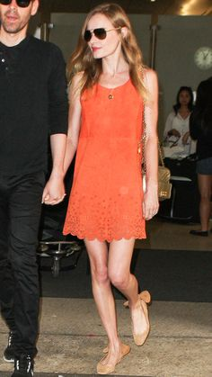 Kate Bosworth's Jet-Setting Style - July 4, 2013 from #InStyle