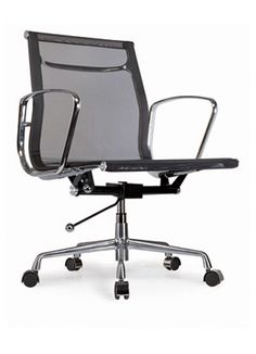 Home Care Task Chair AARON- Swivel Desk Chair Swivel, adjustable height desk chair with metal frame and black mesh seat and back. Perfect for any office environment. Desk Chair, Swivel Chair, Office Nyc, All Modern Furniture, Adjustable Height Desk, Office Environment, Black Mesh, Wayne County, Indoor