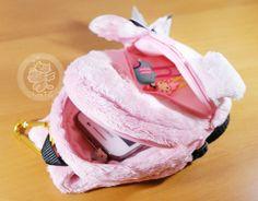 Un porte-appareil+porte-monnaie Sentimental Circus en peluche très kawaii, original et très douce~~(♡^x^♡) **Article San-X authentique, importé du Japon~ -boutique kawaii en ligne / online kawaii shop www.chezfee.com