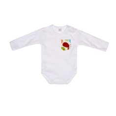 Body niemowlęce PTASZKI Long Sleeve Romper Birds https://fiorino.eu/