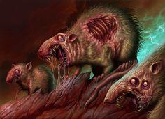Rotting Rats, DaveAllsop on DeviantArt (Dave Allsop, United Kingdom)