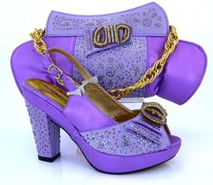 61 76 Watch Now Http Aliide China Info Go Php T 32785647796 Nigeria Matching Shoes And Bag Set Fashion Style Las Pumps Heel Hi