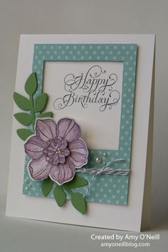 Amy's Paper Crafts | Independent Stampin' Up! Demonstrator