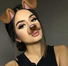 Bianca Maite tooked a video too much! Makeup Goals, Makeup Inspo, Makeup Inspiration, Beauty Makeup, Eye Makeup, Hair Makeup, Hair Beauty, Snapchat Selfies, Snapchat Girls