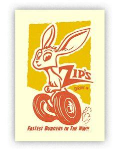 Zip's print by Chris Bovey