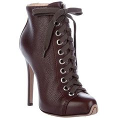 GIAMBATTISTA VALLI 'NAPPA' LACE-UP boot