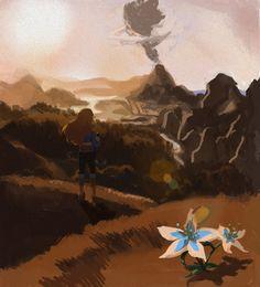 The Legend of Zelda | Breath of the Wild | Artwork by kateblueart