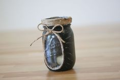 Mason Jar Chalkboard Candle Lights | This looks really cool! #DiyReady www.diyready.com