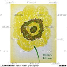 Country Meadow Poster Puzzle