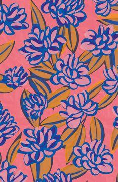 Bolero detail Marion Hamaide motif for Le Presse Papier Motifs Textiles, Textile Prints, Textile Patterns, Print Patterns, Art Prints, Floral Illustrations, Graphic Design Illustration, Illustration Art, 4 Wallpaper