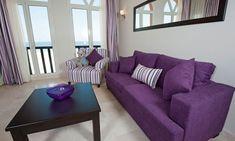 Ideas para combinar un sofá morado o lila