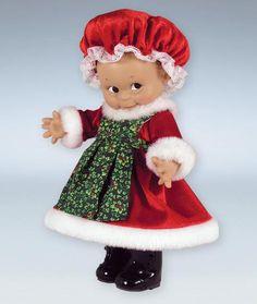 Kewpie Dolls   Kewpie Doll ~ Mrs. Santa Kewpie Doll
